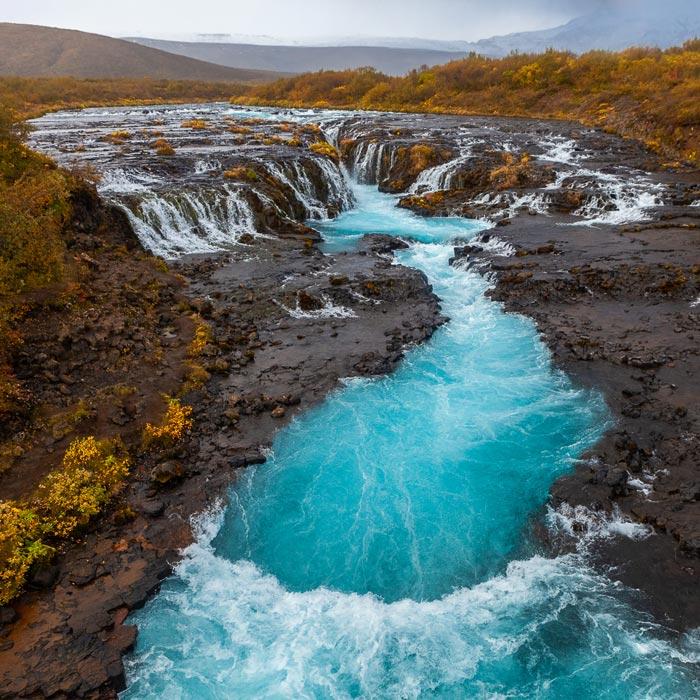 Burafoss-waterfall-iceland